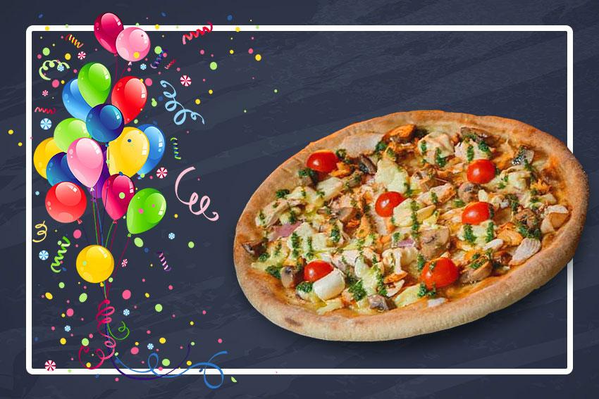 Солодке День Народження! Піца САМЕТЕ у подарунок!